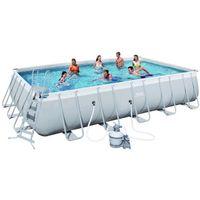 Купить Каркасный прямоугольный бассейн Bestway 56471 (671х366х132) с песочным фильтром