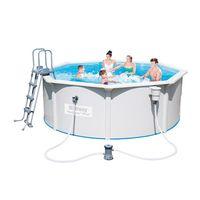 Купить Сборный бассейн Bestway Hydrium Pool Titan 56586/56286 (488x366x122)