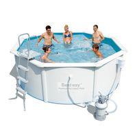 Купить Сборный бассейн Bestway Hydrium 56382 (460х120) с картриджным фильтром