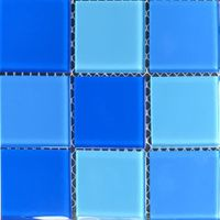 Купить Мозаика стеклянная Aquaviva Cristall Light Blue (48 мм)