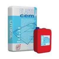 Купить Гидроизоляция ELASTOCEM (А+B) сухой компонент A (мешок) 24 кг код товара: 15939