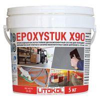 Купить Эпоксидная кислотостойкая затирка EPOXYSTUK X90 5 кг белая код товара: 17577