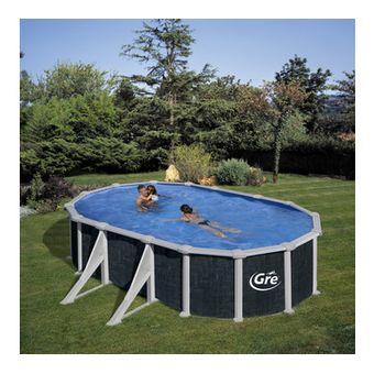 Купить Сборный бассейн GRE Dream Pool PROV738RT (730х375х132) с облицовкой «под ротанг»