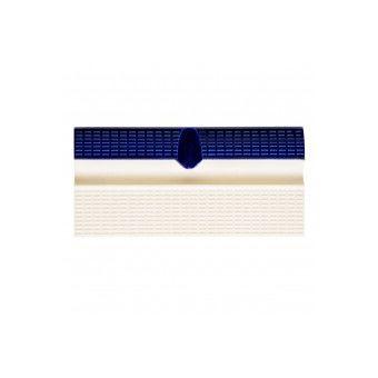 Купить Плитка борд. с поручнем и водостоком AquaViva кобальт+беж 240х115x30mm (AV3-1U)
