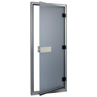 """Купить Дверь для турецкой парной  """"ALDO"""" (ДТ) Бронза матовая, Сатин 60х190, 70х200, 70х210, 80х190, 80х200, 80х210 см."""