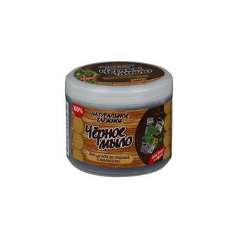 Купить Мыло для бани натуральное чёрное